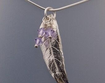 Silver Buddleia leaf