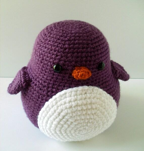 Puddles the Crochet Penguin