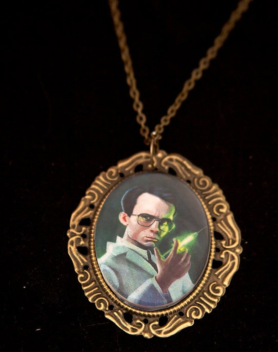 Re-Animator Cameo Necklace