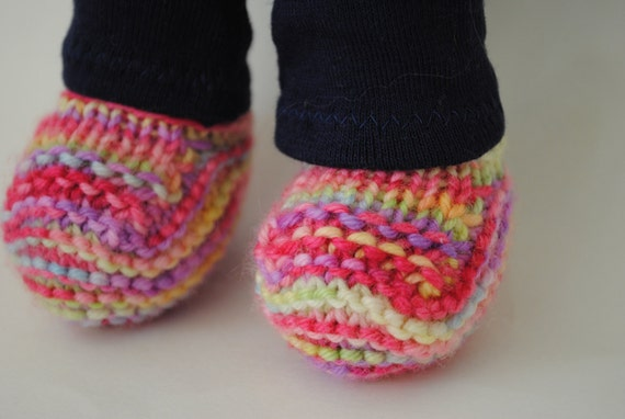 PDF PATTERN Darling Little Dolly Booties