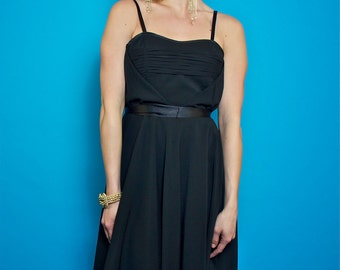New with Tags Gorgeous Vintage Little Black Dress by Dress It