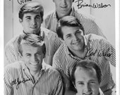 The Beach Boys Publicity Photo     8 by 10 inches