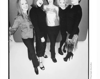 Go Go's Publicity Photo    8 by 10 inches