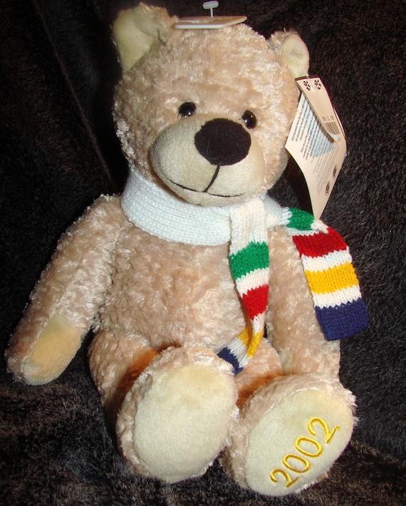 SALE Vintage Hudson Bay Charity Bear