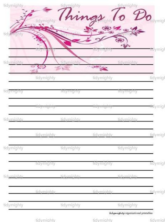 Dashing image pertaining to printable to do list pdf