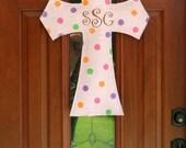 Baby Burlap door and wall hanger