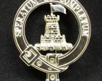Arnett Scottish Clan Crest Badge