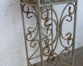 Vintage Country Chic Iron Plant Stand
