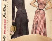 Simplicity 2700 Vintage ladies dress pattern size 14