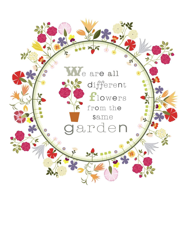 Christine stalder original illustration by christinestalder for Garden design quote