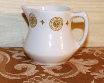 Vintage Shenango China Ironstone Pitcher - Creamer - Shabby Chic - Collectible - Home Decor - USA - Dining and Serving