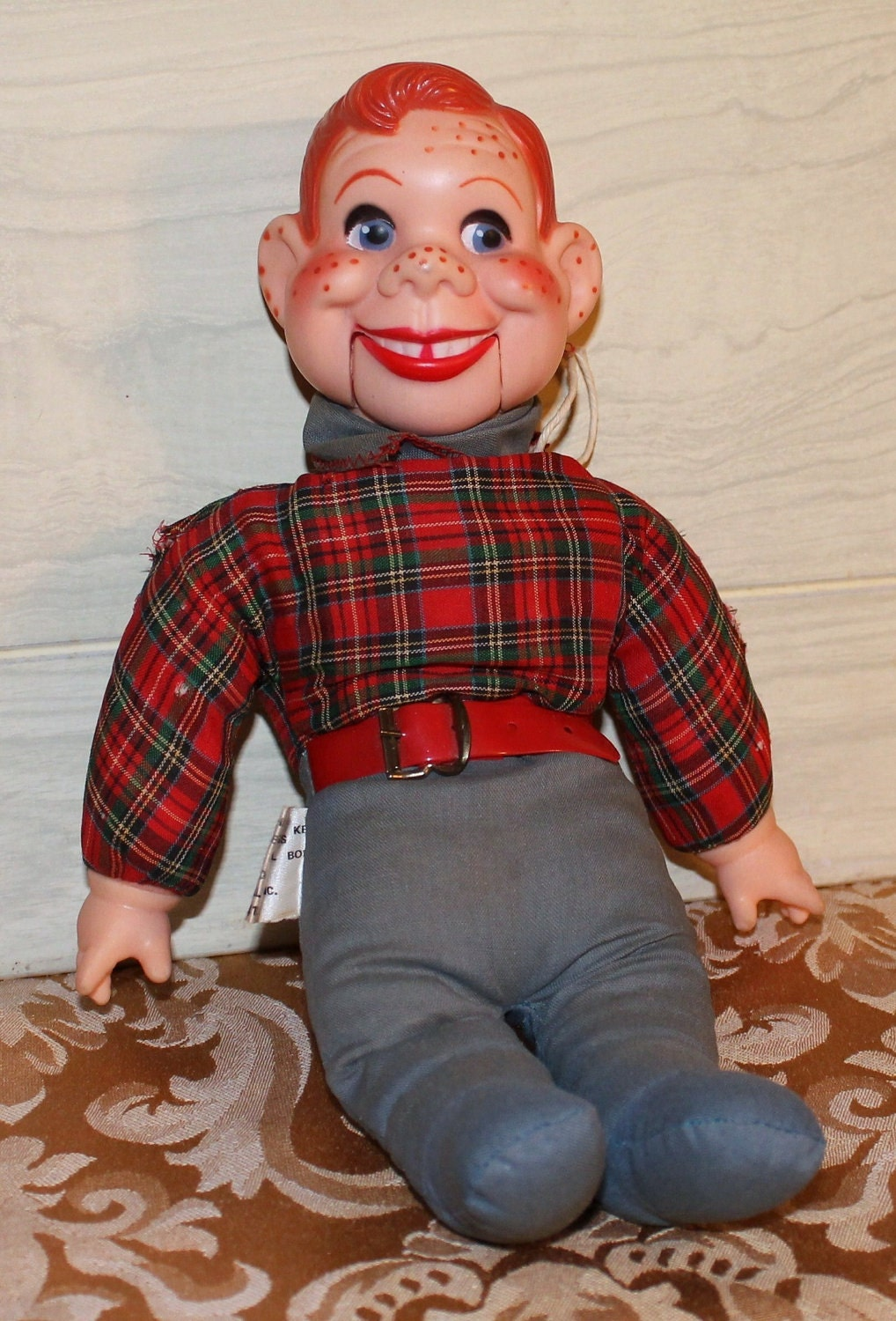 vintage howdy doody ventriloquist doll collectible 12
