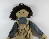 Raggedy Ann AND Andy type doll, Gail Wilson design