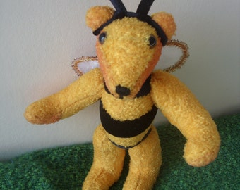 Bear in a Bee costume