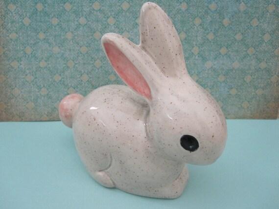 Adorable Handmade Ceramic Bunny