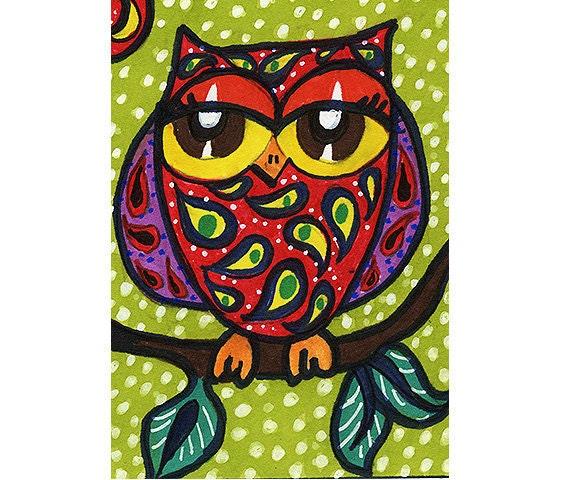 Items Similar To Owl Decor, Nursery Art Print, Funny Owl