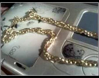 Aluminum Chain Necklace