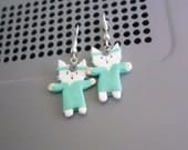 Dr. Tinycat earrings