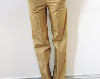 Mustard yellow Pants, palace Pants, cotton, european size 42 (S,M)