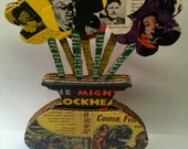THE MIGHTY BLOCKHEAD (original vintage pulp fiction bouquet)
