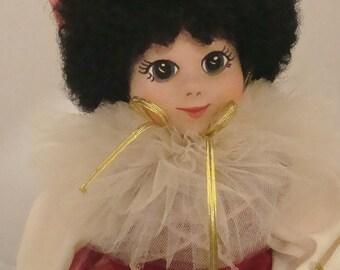 1983 Robin Woods ALLEGRO at the Mardi Gras Jester Doll Pristine for Collector