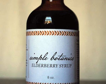 Elderberry Syrup (8 oz) for colds and flu symptoms
