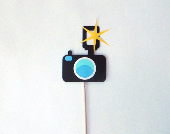 Camera Photo Booth Prop - Perfect addition to any photo booth set