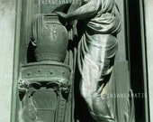 Portrait of Wall Statue - Woman with Urn - Fine Art travel Photograph 5x7in (other sizes available)