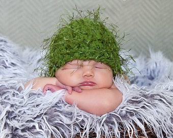 75% OFF Olive Green Baby Hat Newborn Baby Girl Hat Newborn Baby Boy Hat Newborn Baby Hat Wispy Baby Beanie Fun Photo Prop Unique Adorable