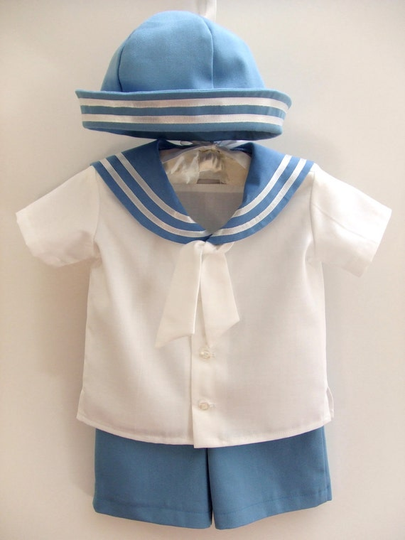 Items Similar To Sailor Baby Boy Outfit Baptism