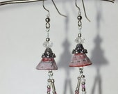 Ariel earrings (pink)