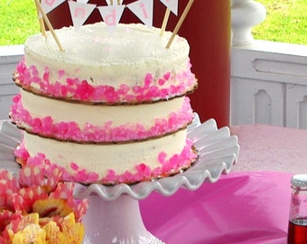 Banner Birthday Cake Topper -personalized