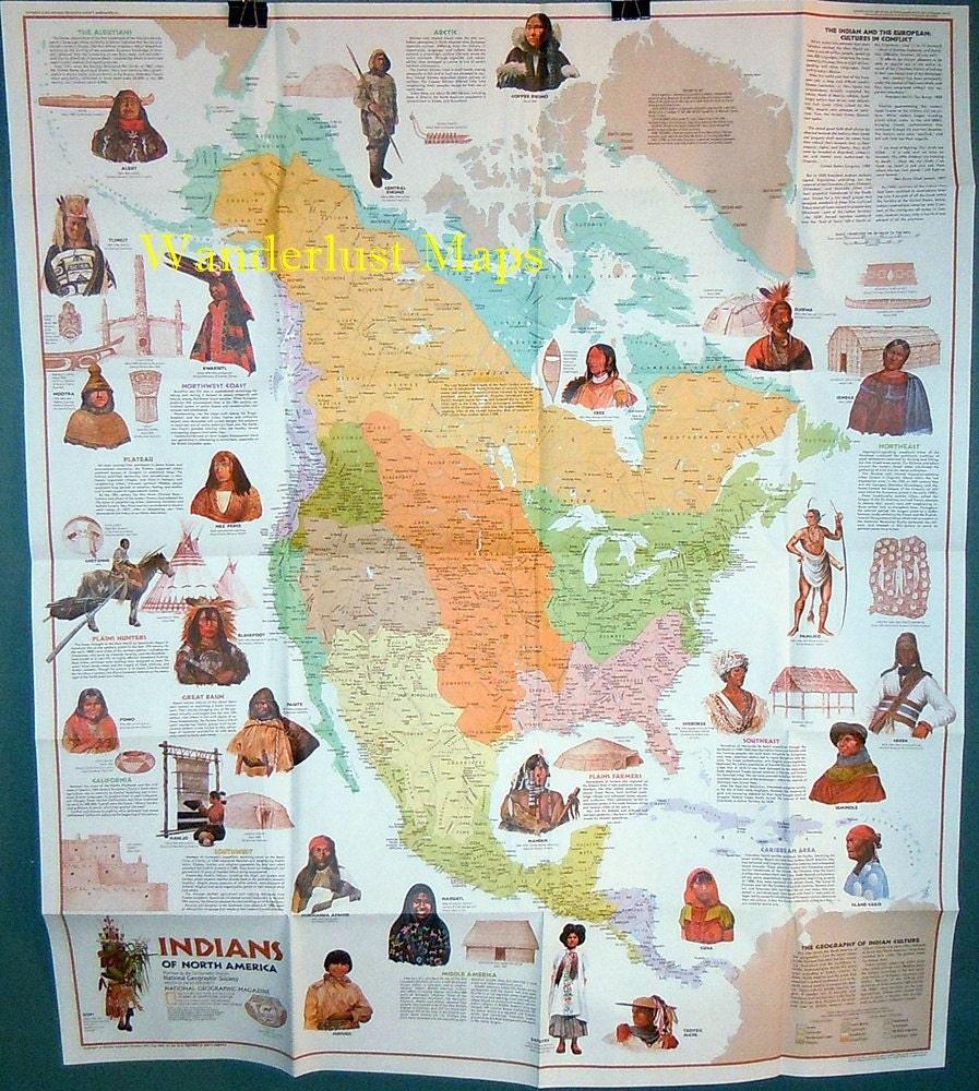 US Map Of The Native American Tribes Alphabetic Listing Of Native - Us native american map