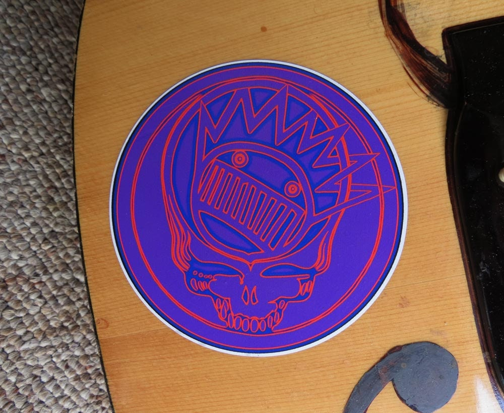Steal Your Face Boognish Grateful Dead Ween By Wittystickers