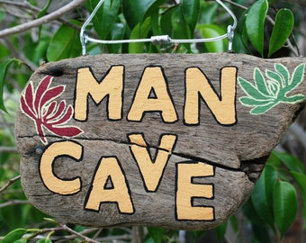 Retro MAN CAVE (Made to Order) peacelovedrifwood