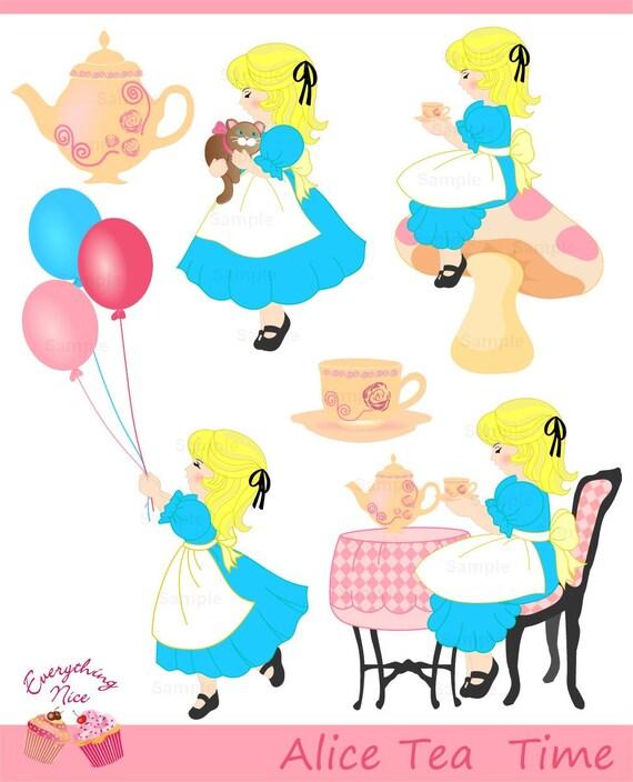 Alice in Wonderland Tea Time