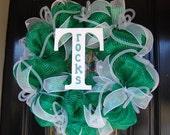 """Trinity """"Shamrocks"""" High School Sports Wreath"""