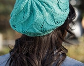 KNIT PATTERN: Rolling Waves Beret