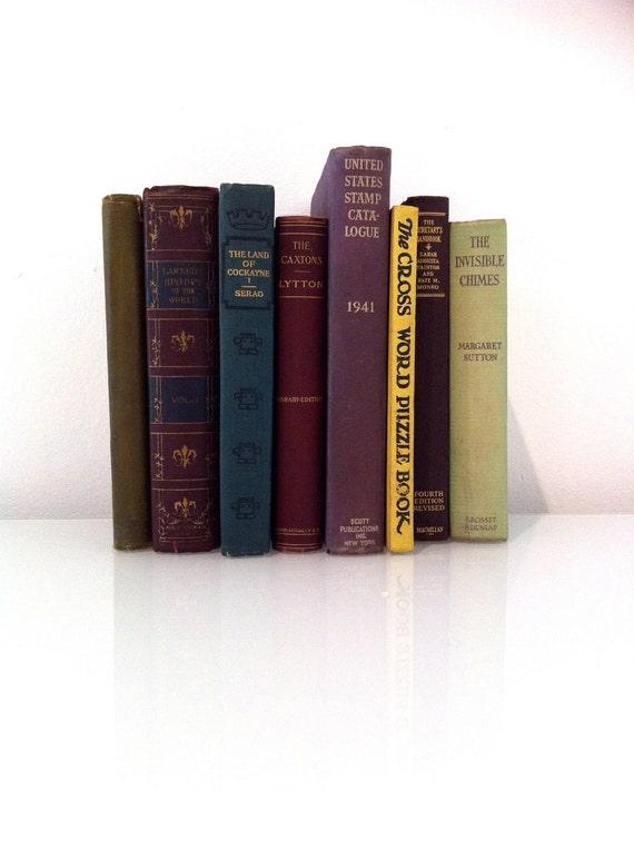 Decorative Set of Books