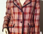 Fall Colored Plaid Jacket with Brown Accents: Fundamental Things