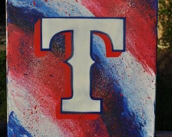 Texas Rangers Fine Art by Summo