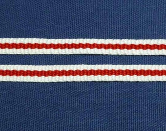 "Midrealm Pale -  Hand Woven Inkle Trim (3/8"" wide)"