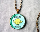 "Vegan Chick 1"" Pendant Necklace - or 2 for 20 - ReLove Plan.et"