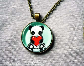 "Love Panda 1"" Pendant Necklace - or 2 for 20 - ReLove Plan.et"