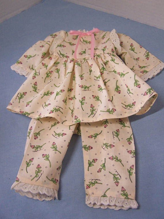 Handmade Cute Pajama 2-Piece Set to fit 18 in or American Girl Doll