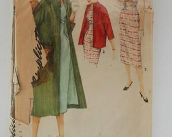 Vintage Simplicity 1505 Misses Size 11