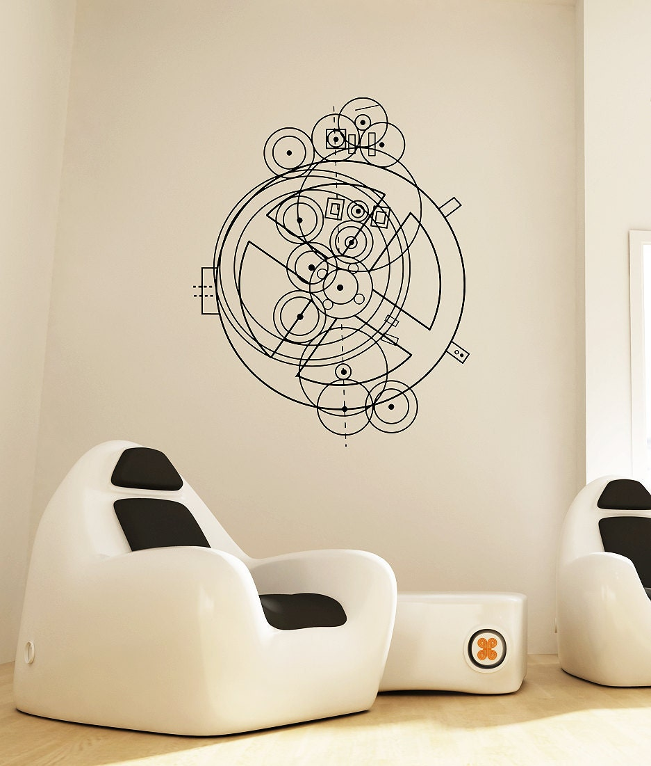 Science art antikythera mechanism schematic vinyl wall decal zoom amipublicfo Gallery