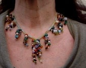 Bouquet of pearls & gemstones...on FINAL CLEARANCE