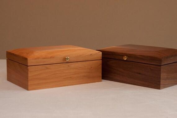 Walnut & Cherry Tea Boxes
