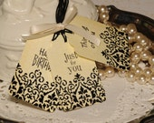 Thinking of You, Just for You, Happy Birthday Gift Tags OOAK